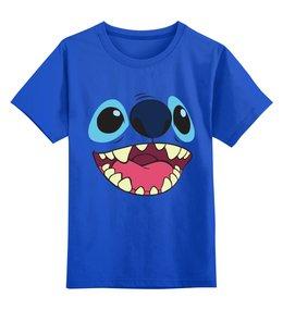 """Детская футболка классическая унисекс """"Стич."""" - лило и стич"""