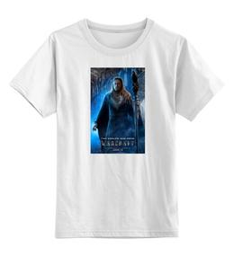"""Детская футболка классическая унисекс """"Warcraft"""" - фэнтези, warcraft, стимпанк, kinoart"""