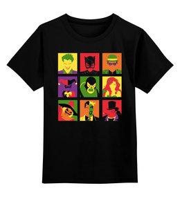 """Детская футболка классическая унисекс """"Бэтмен Поп-арт"""" - batman, джокер, поп-арт, pop art, бэтмен"""