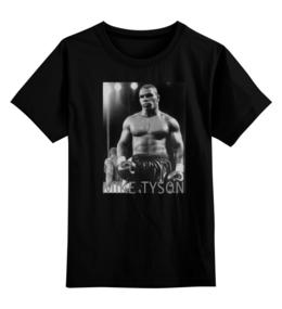 "Детская футболка классическая унисекс ""Mike Tyson"" - фото, чб, майк тайсон, mike tyson, kinoart"