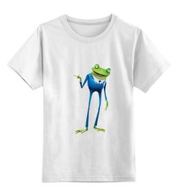 """Детская футболка классическая унисекс """"Мистер Лягушка"""""""