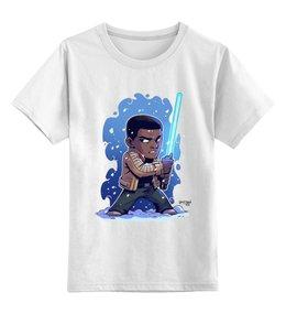 """Детская футболка классическая унисекс """"Финн Джедай"""" - star wars, звездные войны, финн"""