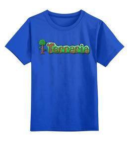 """Детская футболка классическая унисекс """"Terraria"""" - logo, прикольные, детская, terraria"""