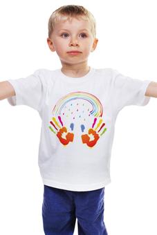 """Детская футболка """"Миру Мир!"""" - мир, дети, добро"""
