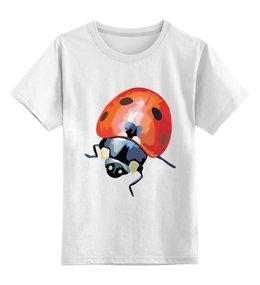 """Детская футболка классическая унисекс """"Божья Коровка"""" - в подарок"""
