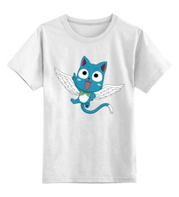 """Детская футболка классическая унисекс """"Сказка о Хвосте Феи"""" - fairy tail"""