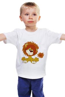 """Детская футболка """"Львёнок"""" - ссср, мультфильмы, львёнок"""
