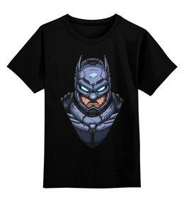 """Детская футболка классическая унисекс """"Armored Batman / Бэтмен в Броне"""" - арт, batman, бэтмен, бэтмен в броне"""