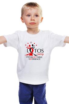 """Детская футболка классическая унисекс """"Unforgettable Experience Tees"""" - lotos, тск лотос, lotos camp"""