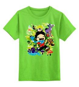 """Детская футболка классическая унисекс """"Природа"""" - абстракция"""