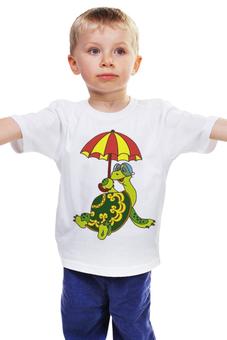 """Детская футболка """"Черепаха"""" - ссср, мультфильмы, черепаха"""