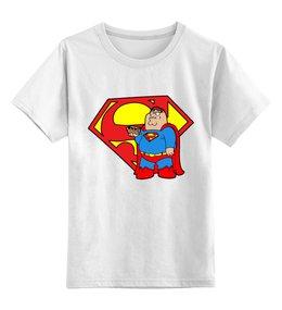 """Детская футболка классическая унисекс """"Супермен"""" - superman"""
