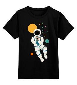 """Детская футболка классическая унисекс """"Космонавт"""" - космос, день космонавтики, космонавт"""