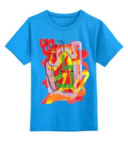"""Детская футболка классическая унисекс """"Денежный Слон"""" - харе кришна, денежный слон"""