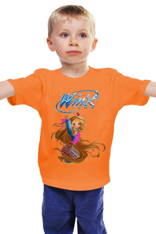 "Детская футболка ""Winx club "" - для девочки, школа волшебниц, винкс клуб"
