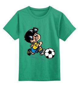 "Детская футболка классическая унисекс ""Футбол"" - футбол, спорт, футболист, мяч"