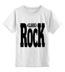 """Детская футболка классическая унисекс """"Классика Рока"""" - рок, детская, классика рока"""