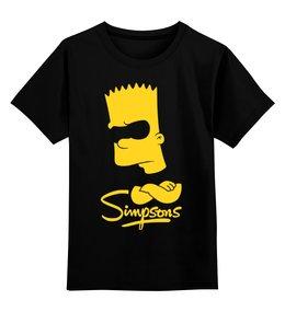 """Детская футболка классическая унисекс """"Барт Симпсон"""" - симпсоны, the simpsons, барт симпсон"""