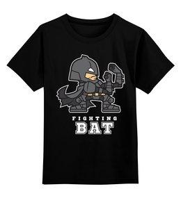 """Детская футболка классическая унисекс """"Бэтмен (Batman)"""" - batman, бэтмен, mario, марио"""