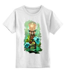 """Детская футболка классическая унисекс """"Во все тяжкие (Breaking Bad)"""" - во все тяжкие, breaking bad, уолтер уайт, хайзенберг, джесси пинкман"""