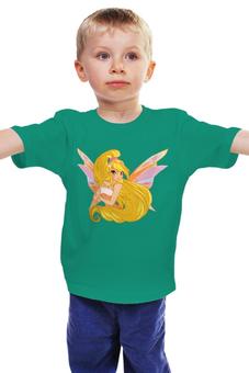 """Детская футболка """"Фея.     """" - школа волшебниц, винкс клуб"""