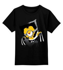 """Детская футболка классическая унисекс """"Миньоны Minions"""" - wolverine, росомаха, миньоны"""