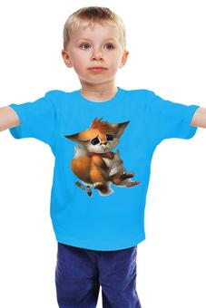 """Детская футболка """"Лисёнок """" - грустный лисёнок"""