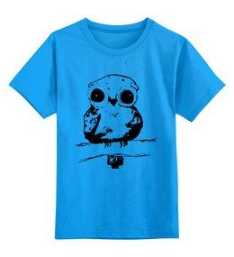 """Детская футболка классическая унисекс """"Лесной житель"""" - дети, детское, ручная работа, детский рисунок, детская работа"""