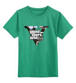 """Детская футболка классическая унисекс """"GTA 5"""" - gta 5"""