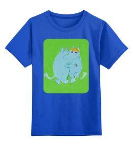 """Детская футболка классическая унисекс """"Любовь и нежность"""" - любовь, обнимать, муммики"""