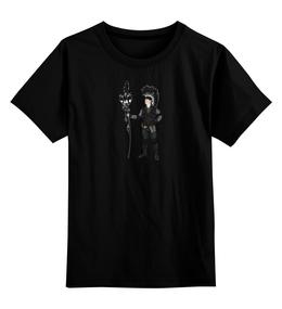 """Детская футболка классическая унисекс """"Эпизод 1 - Ворон"""" - сталкер, тёмная душа"""