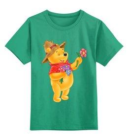 """Детская футболка классическая унисекс """"Винни Пух"""" - медвеженок"""