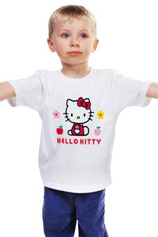 "Детская футболка классическая унисекс ""КОШКА КИТИ.ИГРУШКА. МУЛЬТ. KITTY."" - kitty, мульт, любимая, кити"