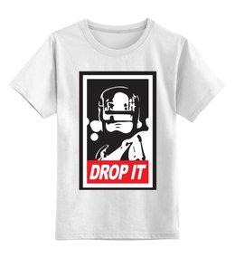 """Детская футболка классическая унисекс """"Робокоп"""" - robocop"""