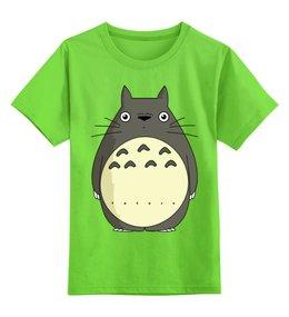 """Детская футболка классическая унисекс """"Тоторо"""" - тоторо, аниме, миядзаки, япония, totoro"""