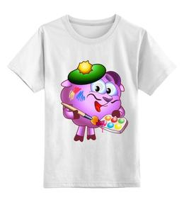 """Детская футболка классическая унисекс """"Футболка из серии """"Смешарики"""""""" - футболка, прикольные, в подарок"""