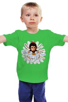 """Детская футболка классическая унисекс """"Год Обезьяны 2016"""" - обезьяна, символ нового года, год обезьяны, символ 2016"""