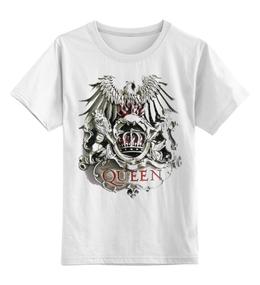 """Детская футболка классическая унисекс """"Queen"""" - детская, queen"""