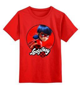 """Детская футболка классическая унисекс """"Леди Баг и Супер Кот"""" - les aventures de ladybug et chat noir, miraculous"""