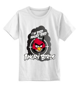 """Детская футболка классическая унисекс """"Angry Birds"""""""