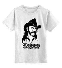 "Детская футболка классическая унисекс ""Motorhead Band"" - heavy metal, рок музыка, motorhead, lemmy kilmister, рок певец"