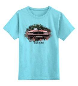 """Детская футболка классическая унисекс """"Атомобиль"""" - автомобиль, транспорт, фары, машина, клевая машина"""