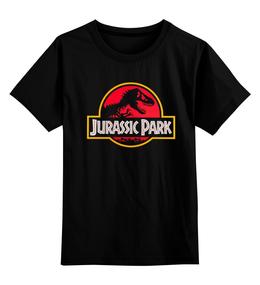 "Детская футболка классическая унисекс ""Jurassic Park / Парк Юрского Периода"" - динозавры, афиша, парк юрского периода, jurassic park, kinoart"