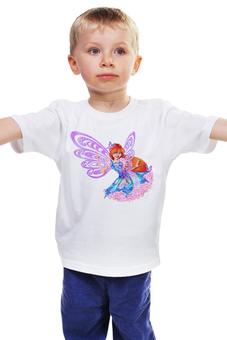 "Детская футболка ""Winx club "" - магия, для девочки, школа волшебниц, винкс клуб"