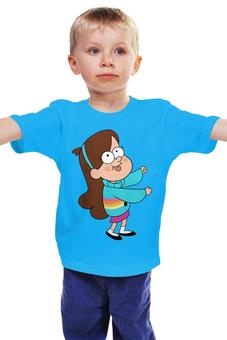 "Детская футболка ""Gravity Falls "" - гравити фолз, мэйбл пайнс"