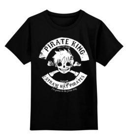 """Детская футболка классическая унисекс """"One Piece"""" - аниме, манга, ван пис, one piece, луффи соломенная шляпа"""