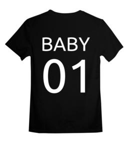 """Детская футболка классическая унисекс """"Без названия"""" - фамилия с номером, именные, фамилия, номер, number"""