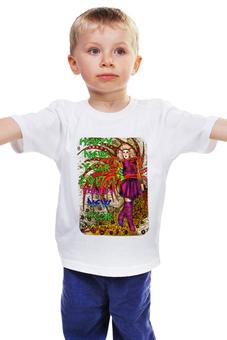"""Детская футболка классическая унисекс """"Новогодний маскарад"""" - новый год, карнавал, маскарад, 2017, новогодний костюм"""