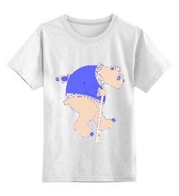 """Детская футболка классическая унисекс """"Мишка"""""""