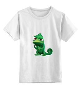 """Детская футболка классическая унисекс """"Футболка из серии """"Хамелеон"""""""" - приколы, оригинально"""